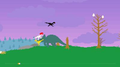 Tela do jogo Dino Run