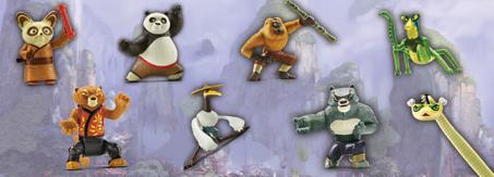 Kung Fu Panda, no Mc Donald's...