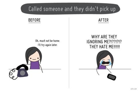 A vida antes e depois dos celulares