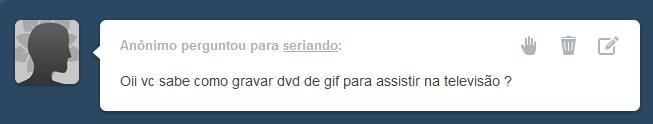 DVD de GIF para ver na televisão???